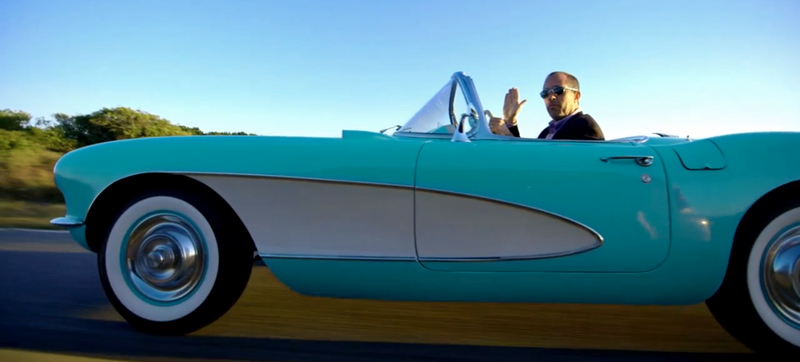 Illustration for article titled Jerry Seinfeld, An Aqua 1956 Corvette, And The Spirit Of American Joy