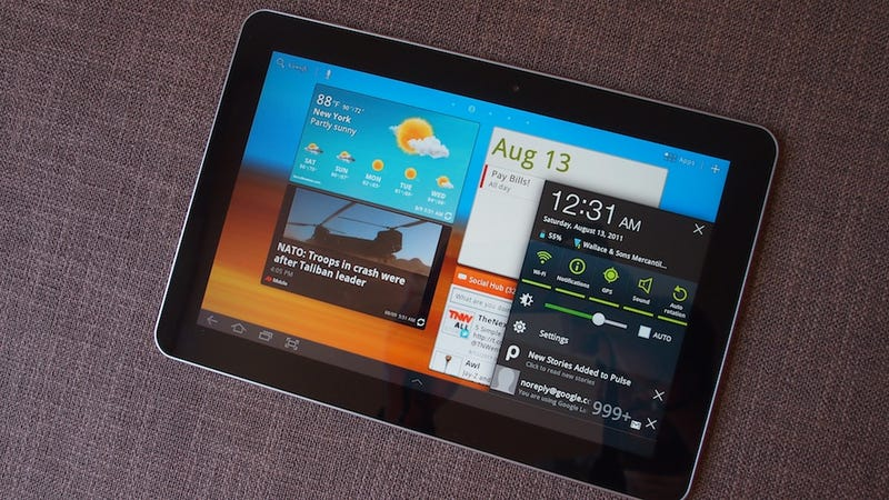 Illustration for article titled Samsung Galaxy Tab 10.1 Touchwiz Lightning Review: Google Tablets Transformed?