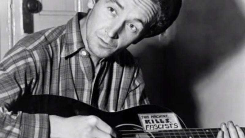 Woody Guthrie - All You Fascists Bound To Lose (Screenshot: YouTube)