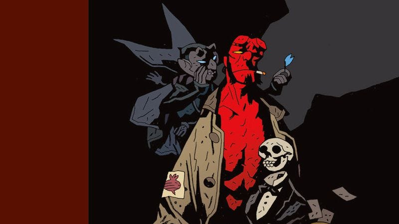 Illustration for article titled New comic releases include All-New Ghost Rider and a Hellboy celebration