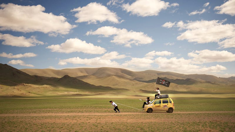 Illustration for article titled Vival La' Mongol Rally