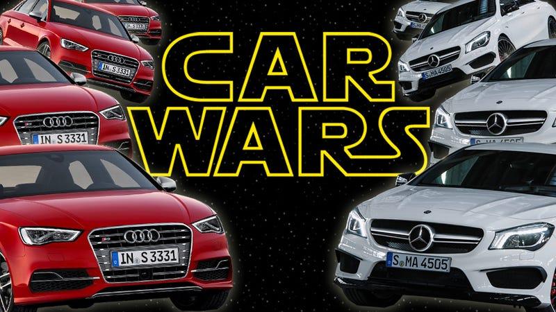 Audi S Vs MercedesBenz CLA AMG Which To Buy - Audi to buy