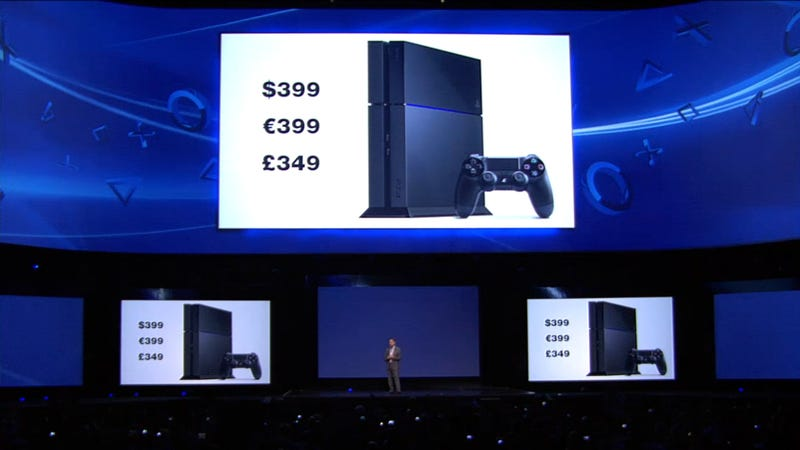 Illustration for article titled Sony's PS4 Is $400, Available This Holiday Season