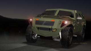 Illustration for article titled The FED Hybrid Humvee Will Save the US Army Millions at the Pump