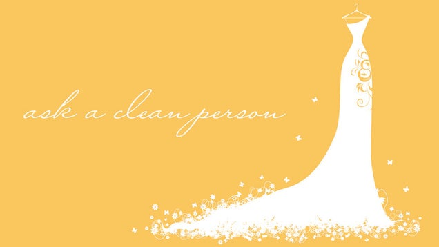 How For You To Clean, Preserve And/Or Salvage Your Own Wedding Dress