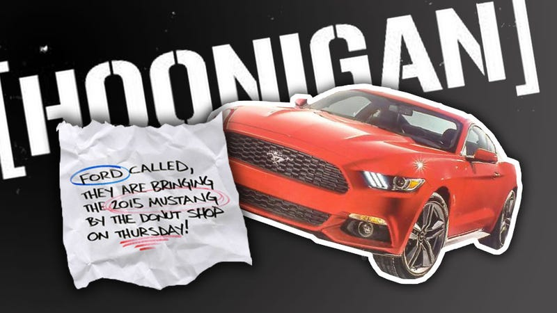 Illustration for article titled Hoonigan Invites You To Paw At The New Mustang In LA
