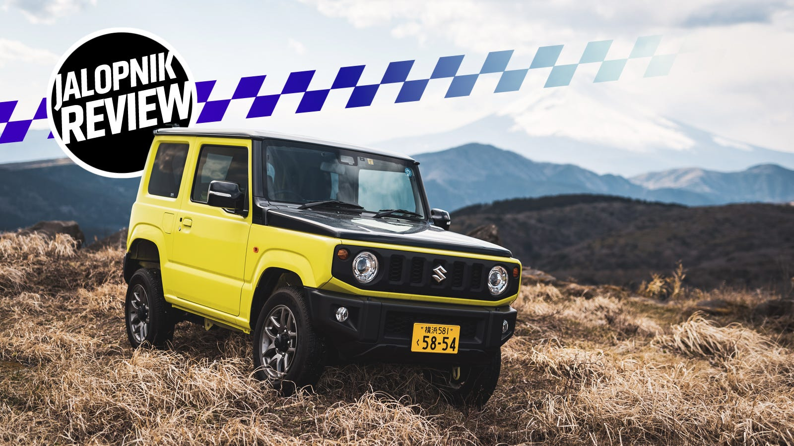 The 660cc 2019 Suzuki Jimny Isn't Perfect but It's Full of Charm