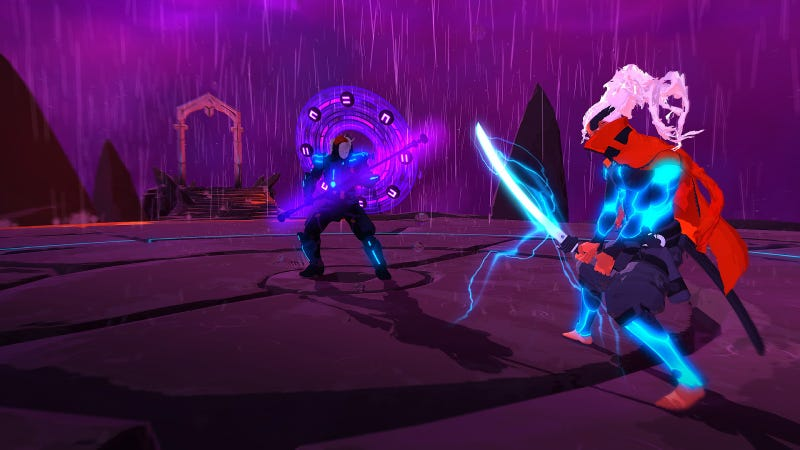 Illustration for article titled Furi Keeps Boss Fights Exciting By Limiting Your Space