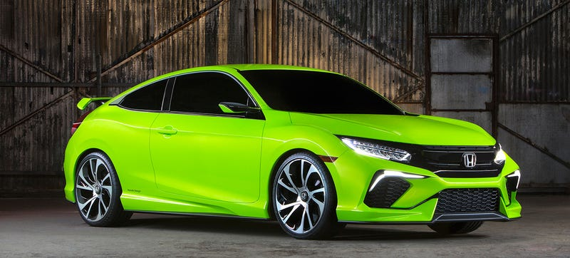 Illustration for article titled Honda's Big Surprise Is A Truly Worldwide Civic, Type-R For U.S.