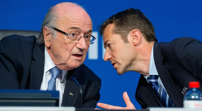 Illustration for article titled Former FIFA Vice President Throws All Kinds Of Shit At Sepp Blatter