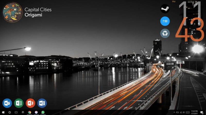 Illustration for article titled Highway Night Desktop