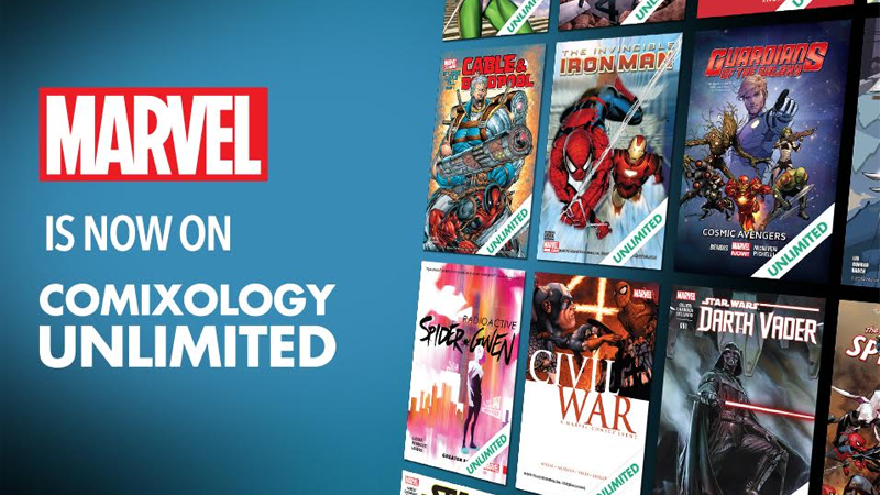 Marvel Joins Comixology's All-You-Can Read Subscription Service