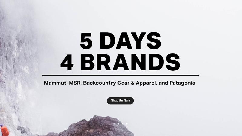 Big Brands Sale | Backcountry