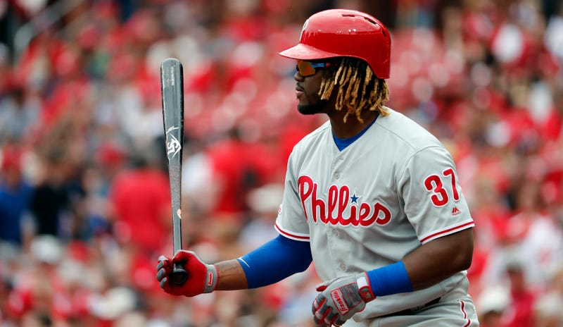Illustration for article titled Phillies Outfielder Odubel Herrera Suspended For Remainder Of MLB Season For Violating Domestic Violence Policy