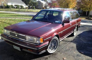 Illustration for article titled For $19,500, This 1987 Toyota Cressida Will Leave Its Mark II