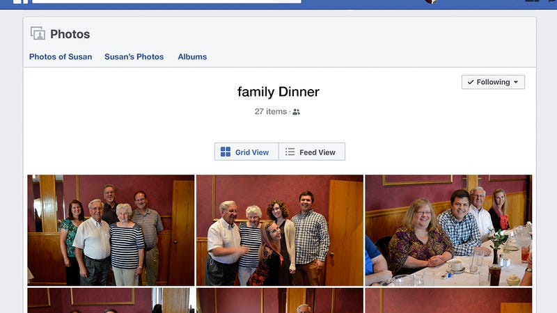Illustration for article titled Her Magnum Opus: Mom Put A 27-Photo Album On Facebook Of Just Last Night's Dinner