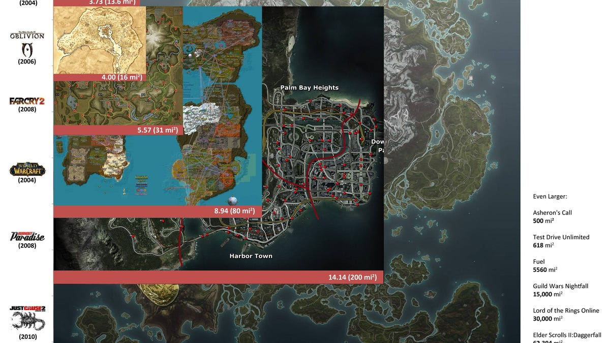 Old Elder Scrolls Game Takes Over 60 Hours To Walk Across on