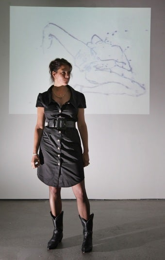 "Illustration for article titled ""Wild Woman"" Tracey Emin On Art, Kids, & Statutory Rape"