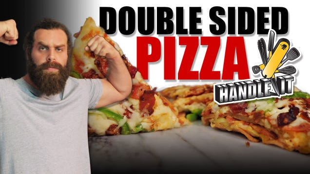 This Video Shows You How to Bake the Legendary Double-Sided Pizza
