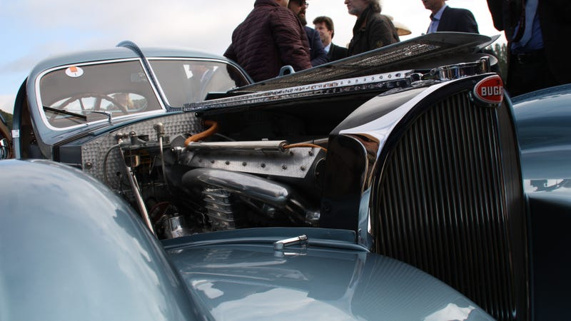 Illustration for article titled Like Pebble Beach, but for actual petrolheads: Chantilly Art & Elegance report/photodump!