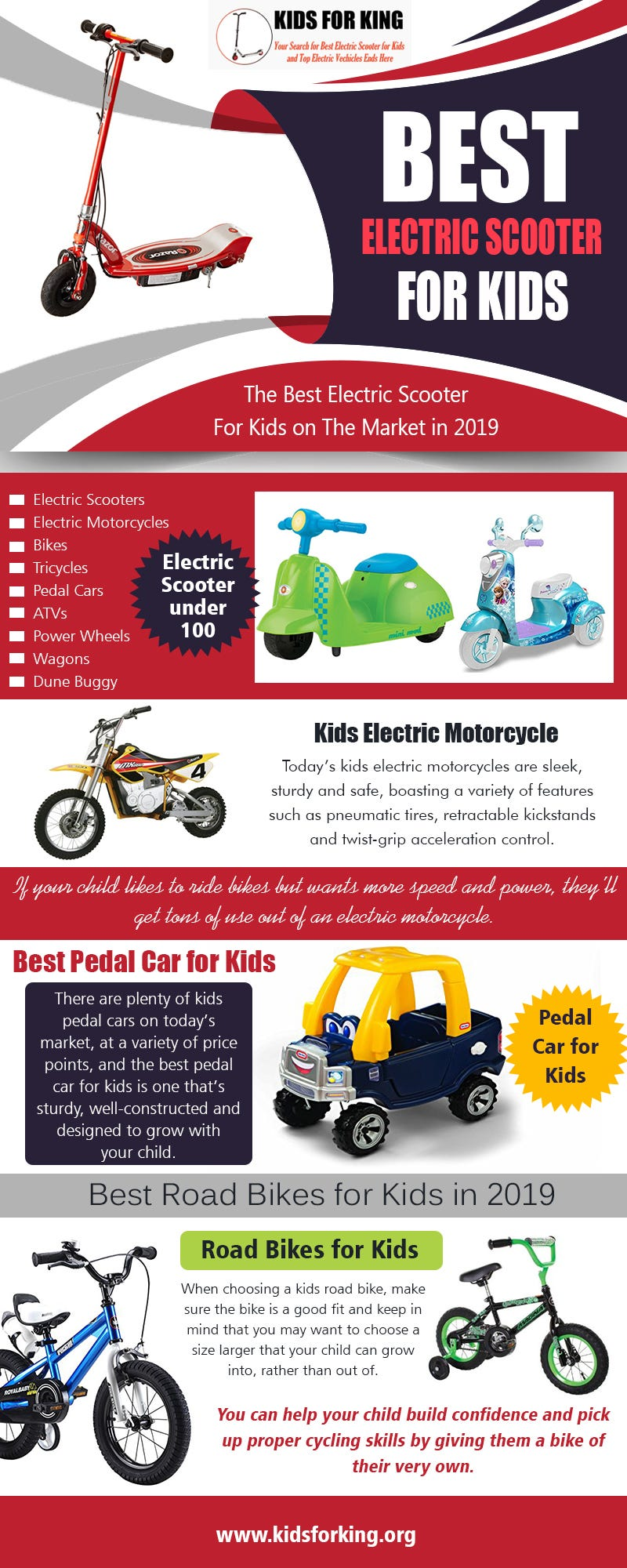 Illustration for article titled Best Electric Scooter for Kids | kidsforking.org