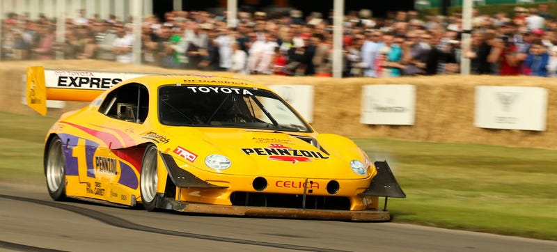 Illustration for article titled Jump Onboard Rod Millen's 850 HP Pikes Peak Celica For Its Uphill Run