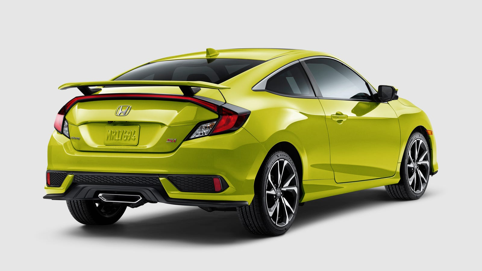 2019 honda civic si gets a 200 price bump. Black Bedroom Furniture Sets. Home Design Ideas