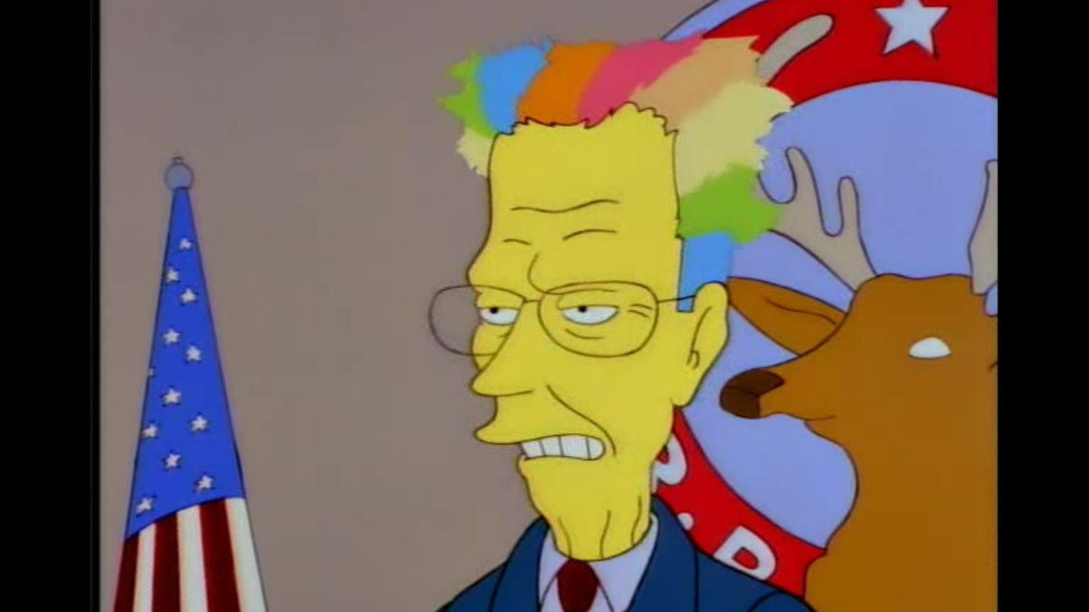 Image result for george bush the simpsons