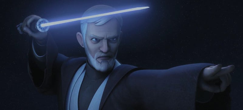 Illustration for article titled Obi-Wan Kenobi and Darth Maul Are Getting a Rematch on Star Wars Rebels