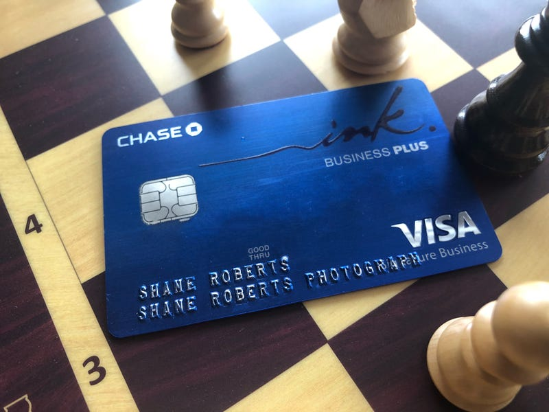 Get a sign up bonus for your side hustle with chase ink chase ink business preferred card pictured with square off photo shane roberts colourmoves