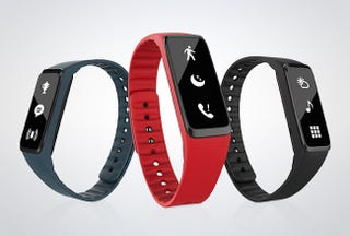Illustration for article titled New Years Resolutions: 45% Off The Fusion Fitness Band + Smartwatch