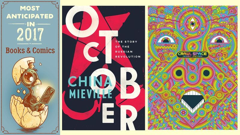 October by China Mieville, Crawl Space by Jesse Jacobs