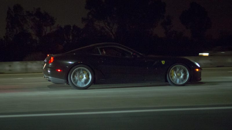 Illustration for article titled Worst photo of a Ferrari 599 GTB ever