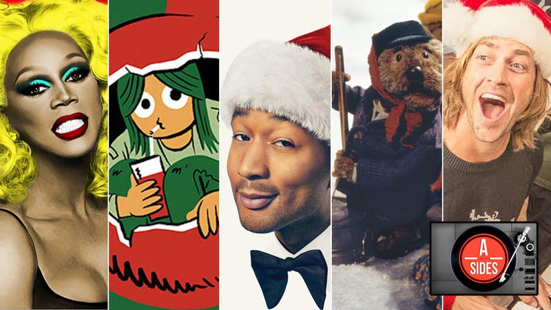 Illustration for article titled A-Sides: John Legend, RuPaul, and all of this Christmas' red-hot musical chestnuts