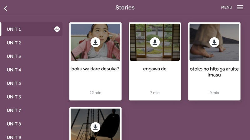 Illustration for article titled Rosetta Stone Adds Phrasebook, Downloadable Audio Lessons, and More on iOS