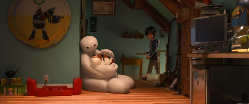 Illustration for article titled We Watched Big Hero 6's Adorable Robot Baymax Explain Puberty