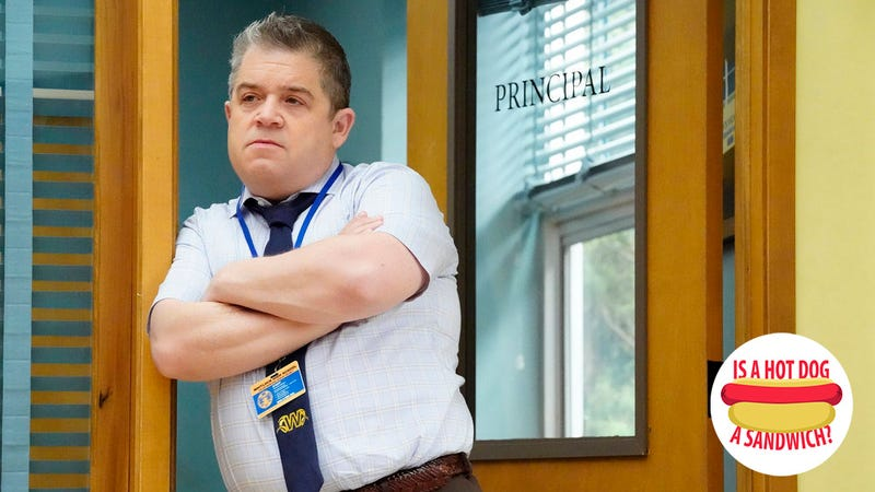 Illustration for article titled Hey Patton Oswalt, is a hot dog a sandwich?