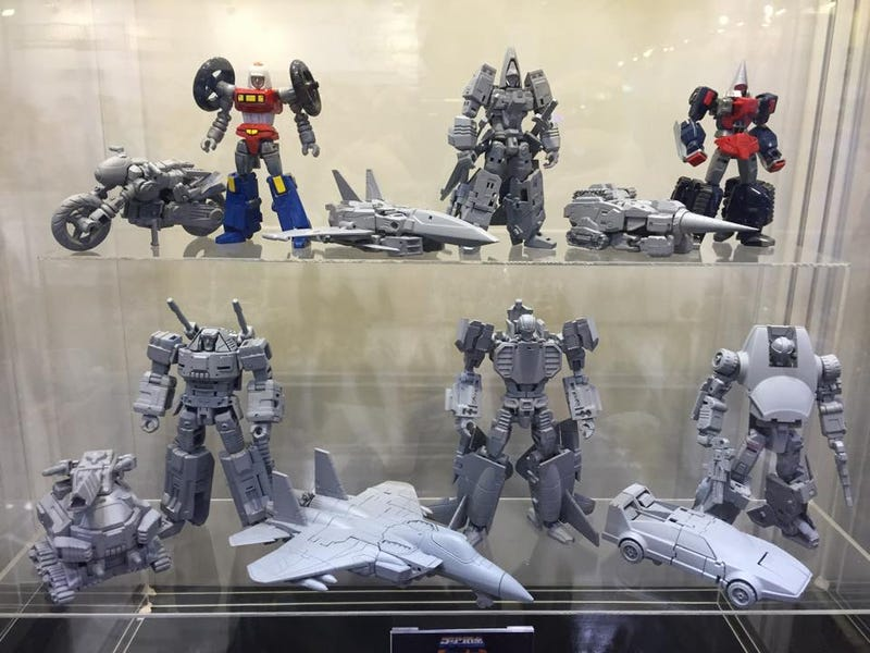 Illustration for article titled Holy Cow, Bandai Are Making New, Non-CrappyGobotsFigures