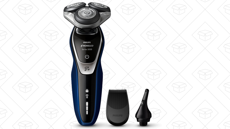 Philips Norelco Electric Shaver 5570 Wet & Dry   $75   Amazon