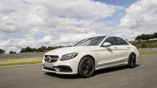 Illustration for article titled A new C63 S keeps doing acceleration runs near my house