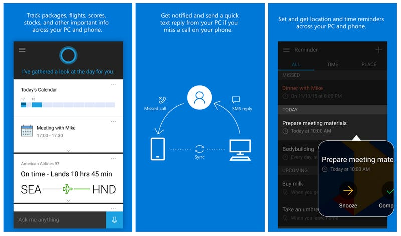 You Can Now Download Cortana for Android and iOS