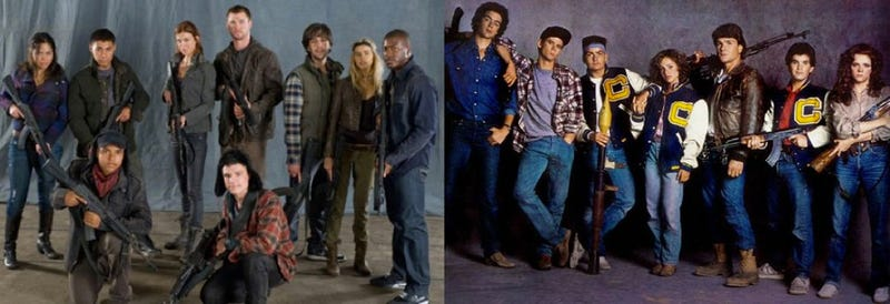 Illustration for article titled First cast photo from Red Dawn remake shows Guerrilla teen militia The Wolverines