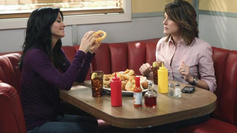 """Illustration for article titled Cougar Town: Cougar Town - """"Stop Dragging My Heart Around"""""""