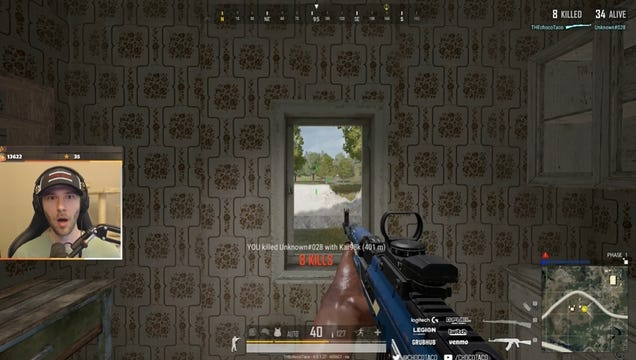Streamer Tries To Test PUBG Bug, Accidentally Lands Shot Of A Lifetime