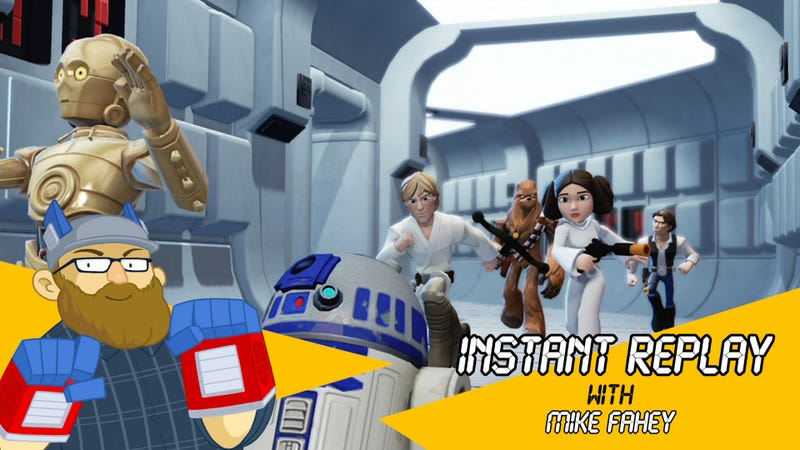 Illustration for article titled Disney Infinity's Version Of The Original Star Wars Trilogy Is Way Different