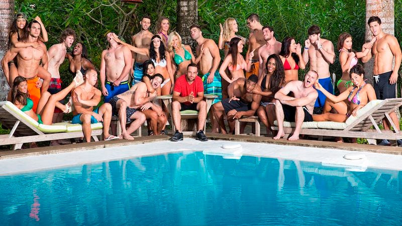 The cast of Battle Of The Exes II