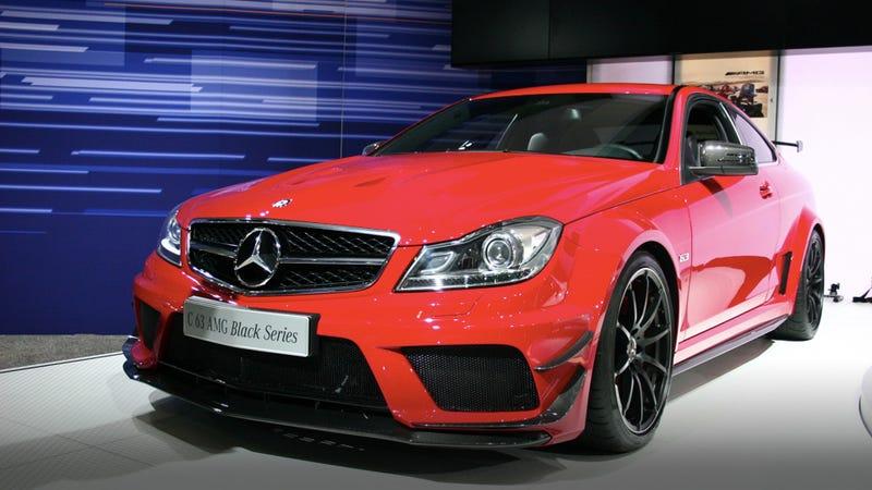 2012 Mercedes C63 AMG Black Series Cheaper speed
