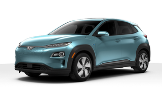 Illustration for article titled The new electric Hyundai Kona looks pretty good