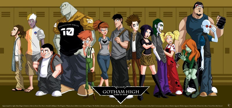 Illustration for article titled Fox's Gotham TV series is going to be Batman: The High School Years