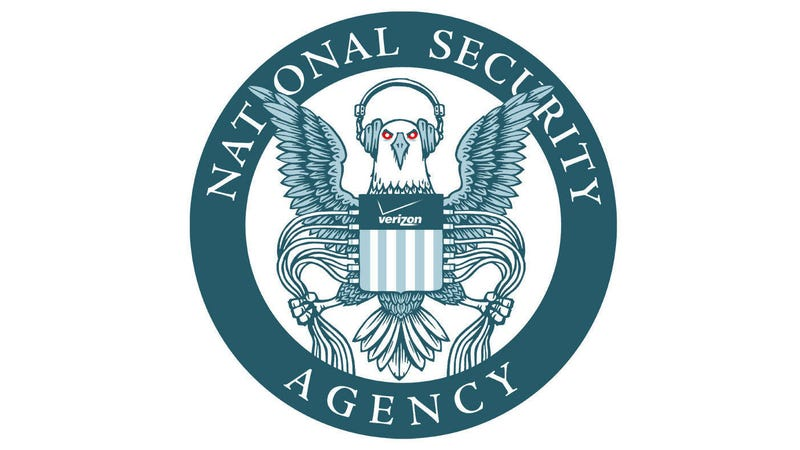 Illustration for article titled How the NSA's Logo Should Really Look